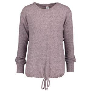 128 Ladies Hacci Drawstring Pullover