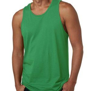 131 Men's/Unisex Cotton Tank Kelly Green